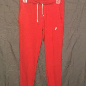 Woman's size small Nike joggers